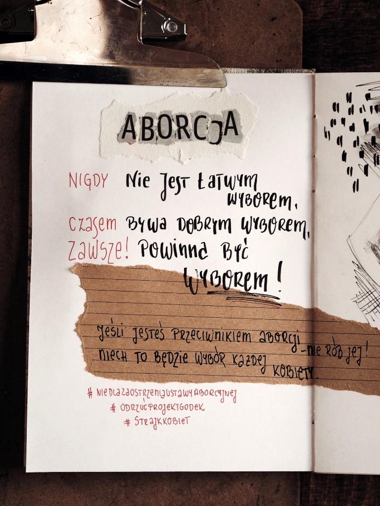 aborcja - chcę mieć wybór; bardzoosobiste.pl, Anna Pryć-Futkowska
